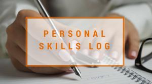 Personal skills log