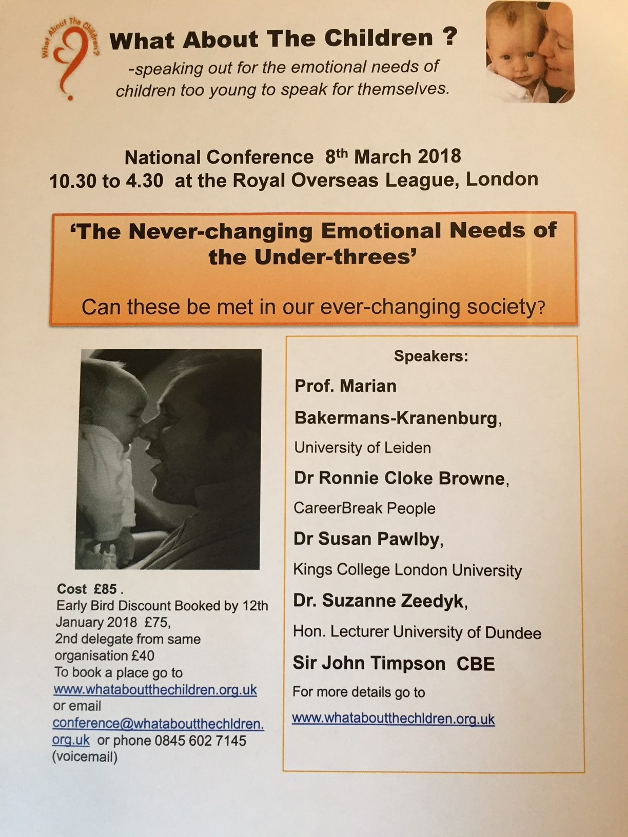 WATCh conference flyer